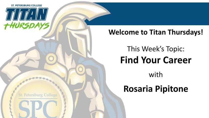 Titan Thursday: Find Your Career