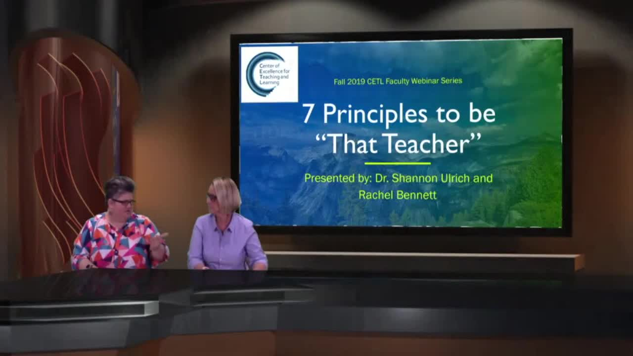 7 Principles to be