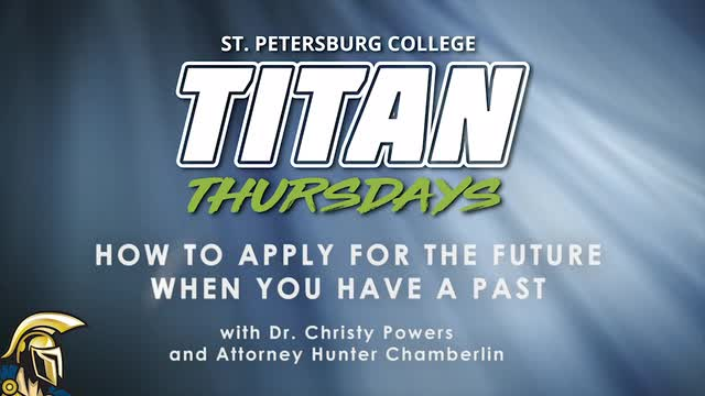 Titan Thursday: How to Apply for the Future when y...
