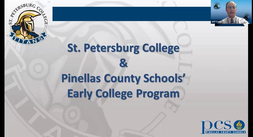 Early College Program Information Session