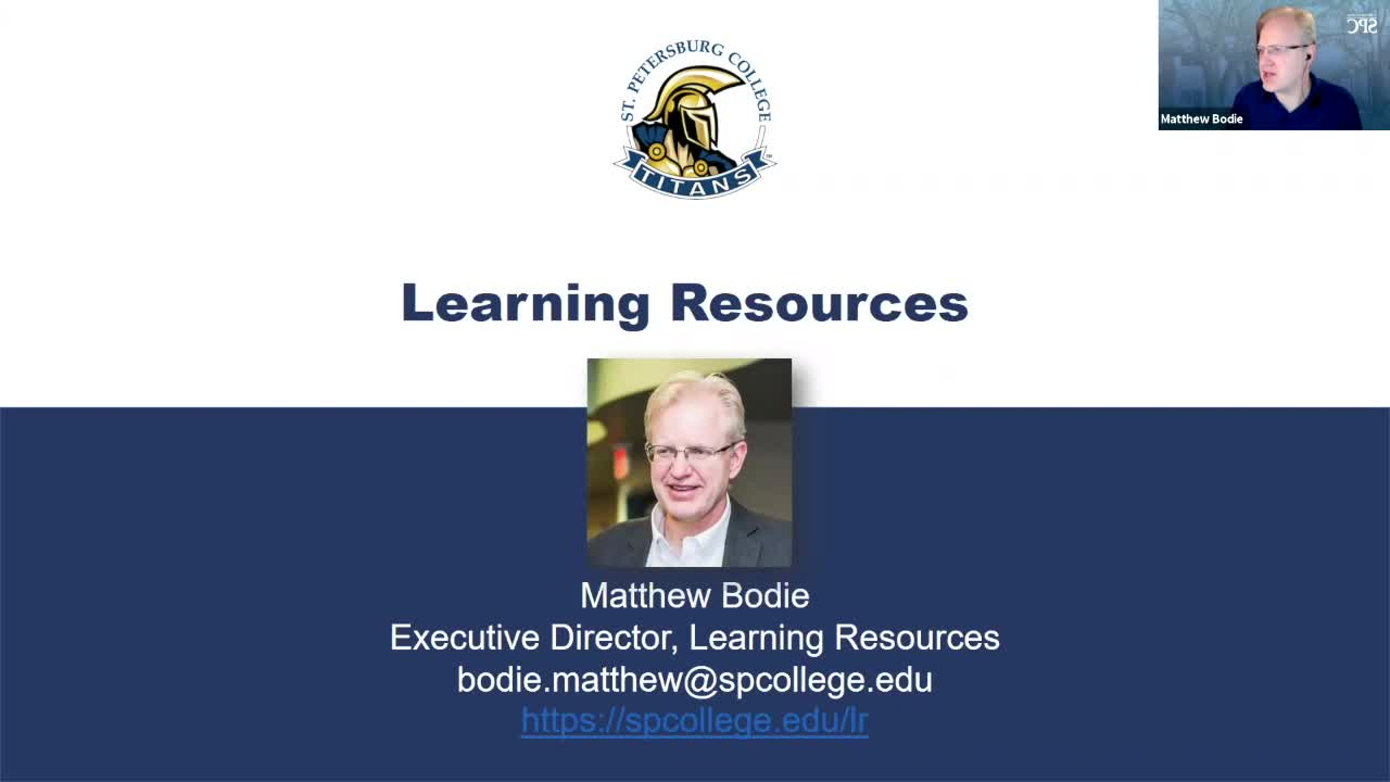 Learning Resources and Tutoring - CETL Adjunct Eve...