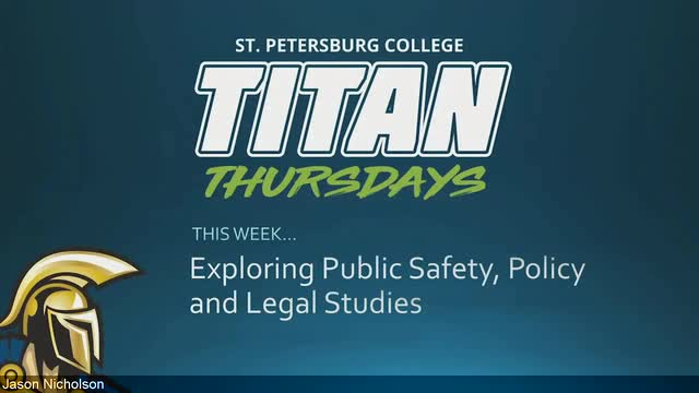 Titan Thursday - Exploring Public Safety Policy an...