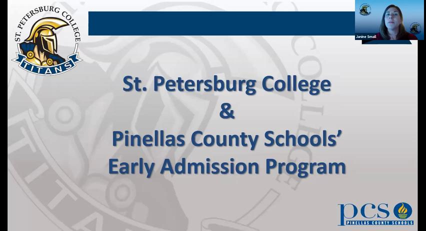 Early Admission Information Session
