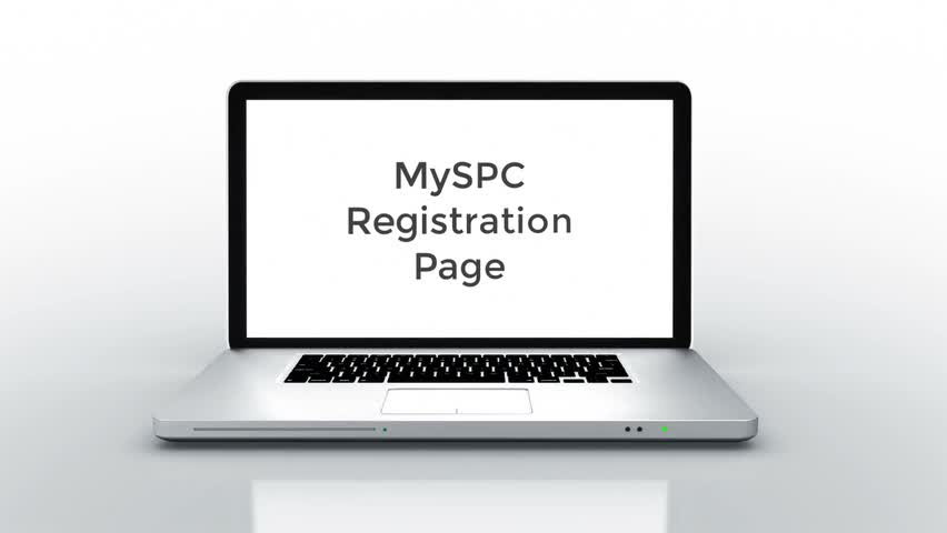 MySPC Registration Page