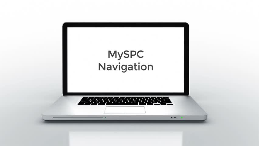 MySPC How to Navigate